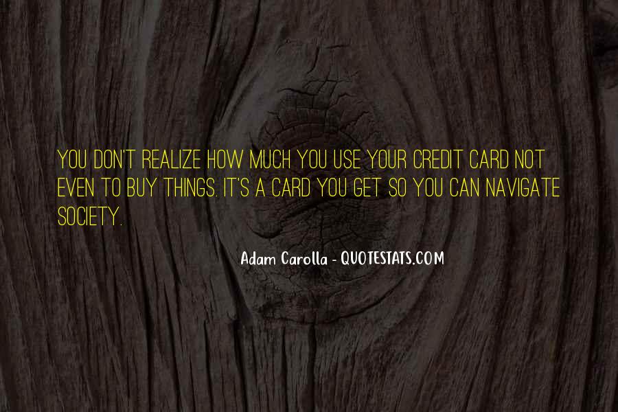 Things You Can't Buy Quotes #1513834