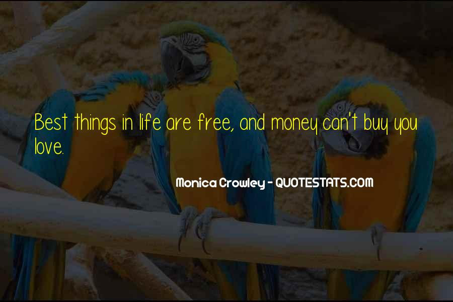 Things You Can't Buy Quotes #1623924