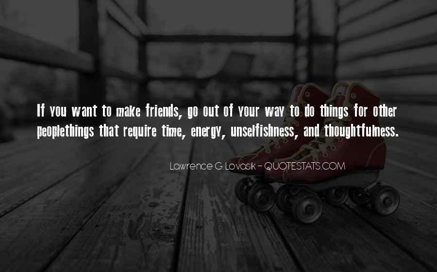 Things You Do For Friends Quotes #491589