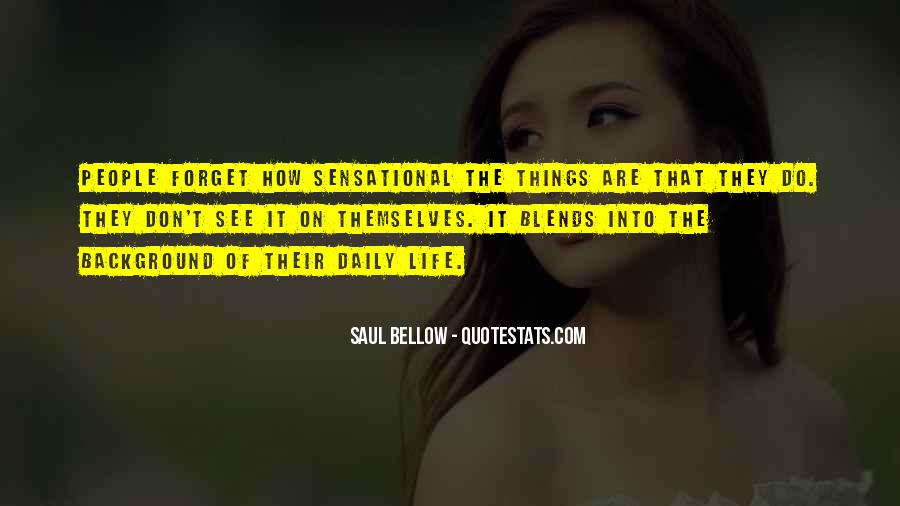 Things You Never Forget Quotes #132123