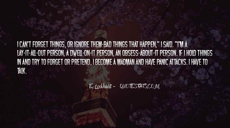 Things You Never Forget Quotes #211490