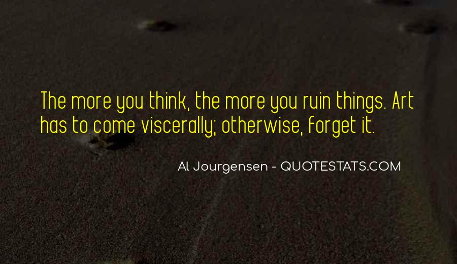 Things You Never Forget Quotes #95279