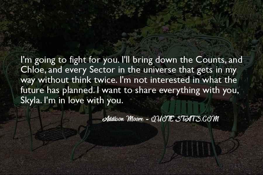 Think Love You Quotes #35748