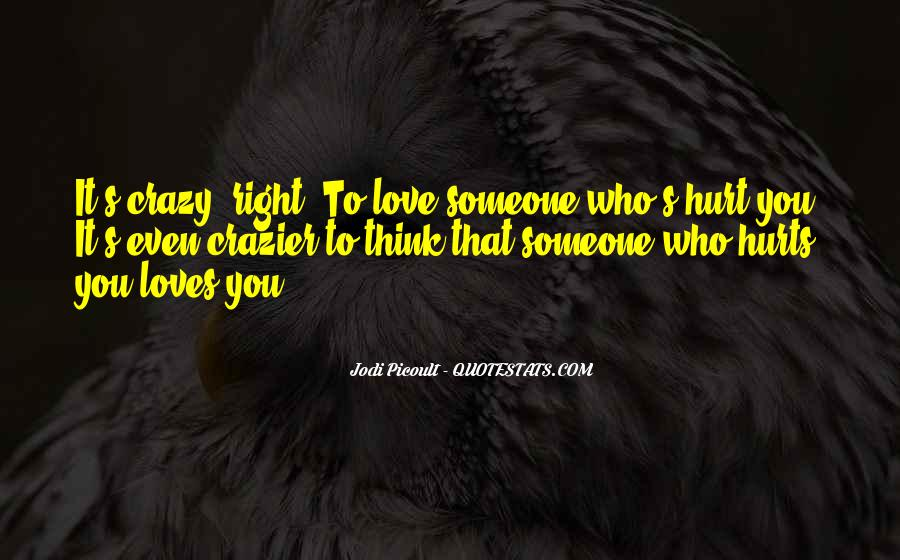 Think Love You Quotes #50413