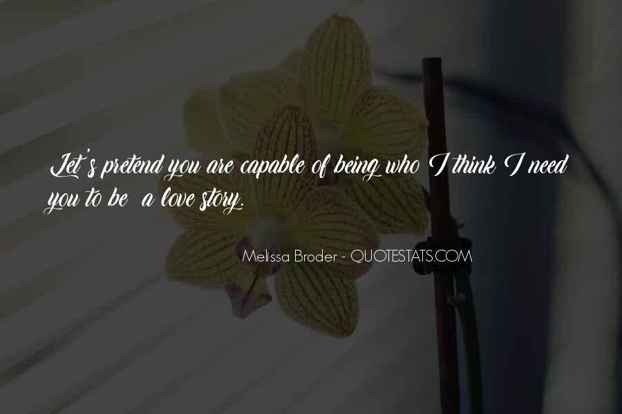 Think Love You Quotes #70558
