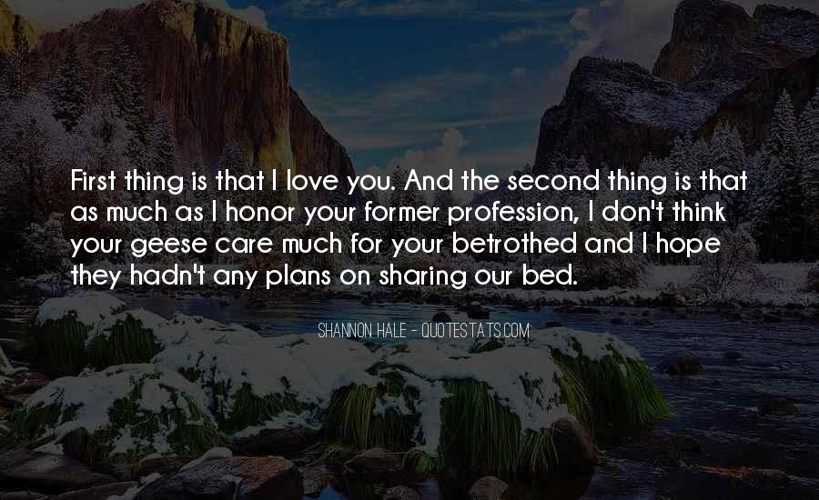 Think Love You Quotes #70924