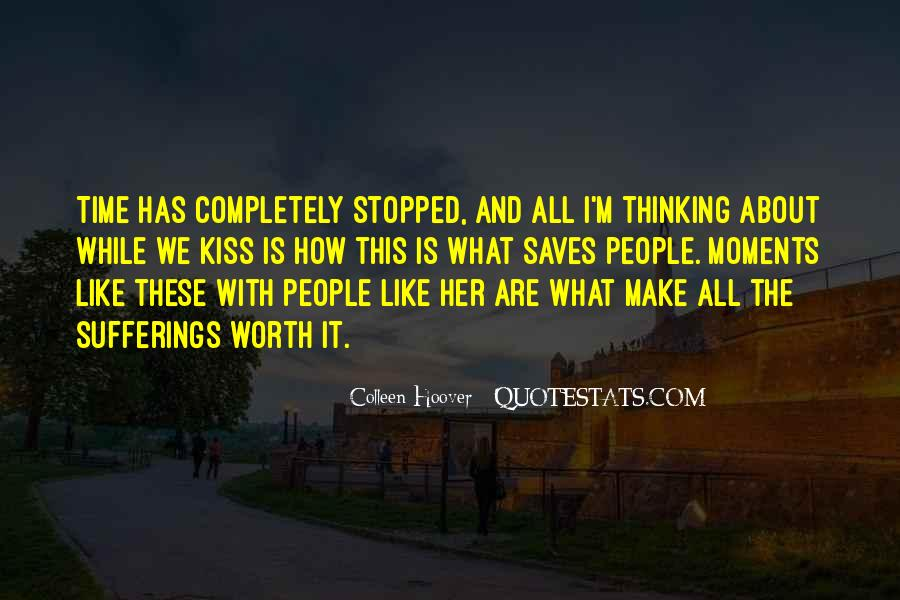 Thinking About Her All The Time Quotes #870651