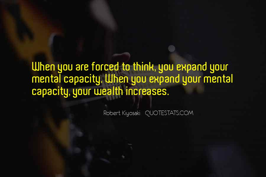 Thinking Capacity Quotes #1395851