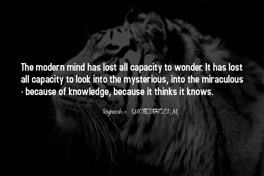Thinking Capacity Quotes #1711576