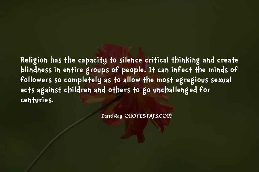 Thinking Capacity Quotes #173438