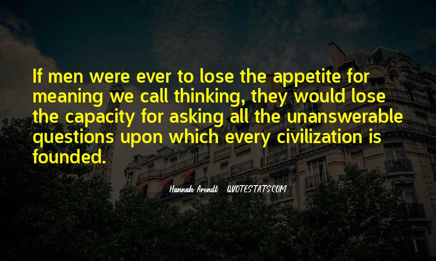 Thinking Capacity Quotes #1874475