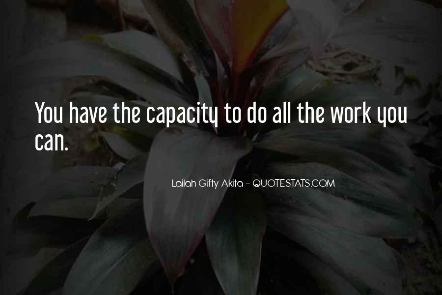 Thinking Capacity Quotes #23144