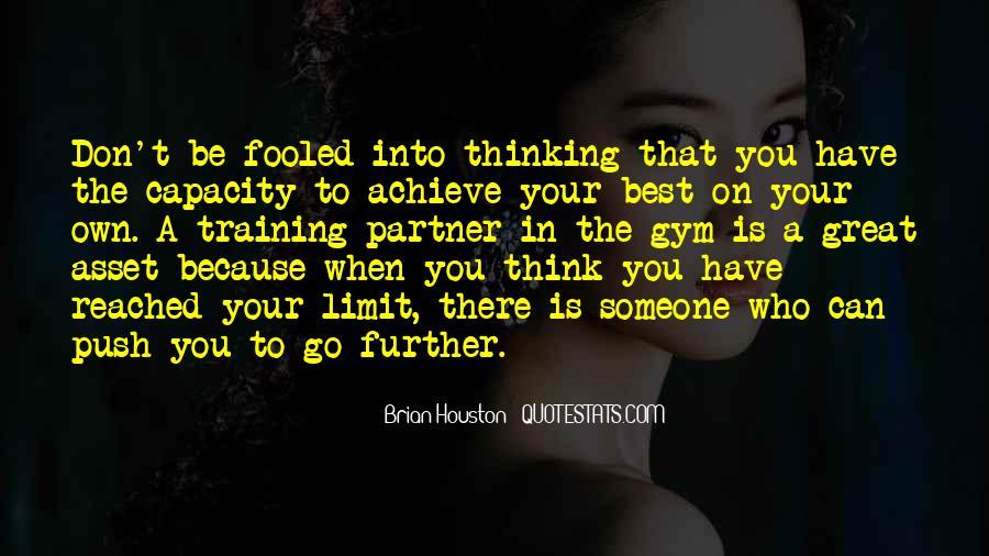 Thinking Capacity Quotes #371319