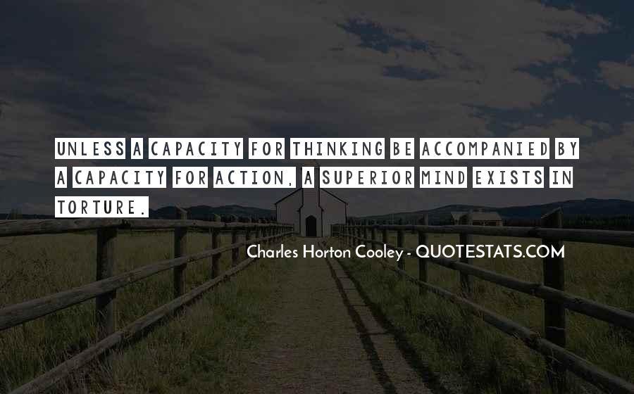 Thinking Capacity Quotes #393626