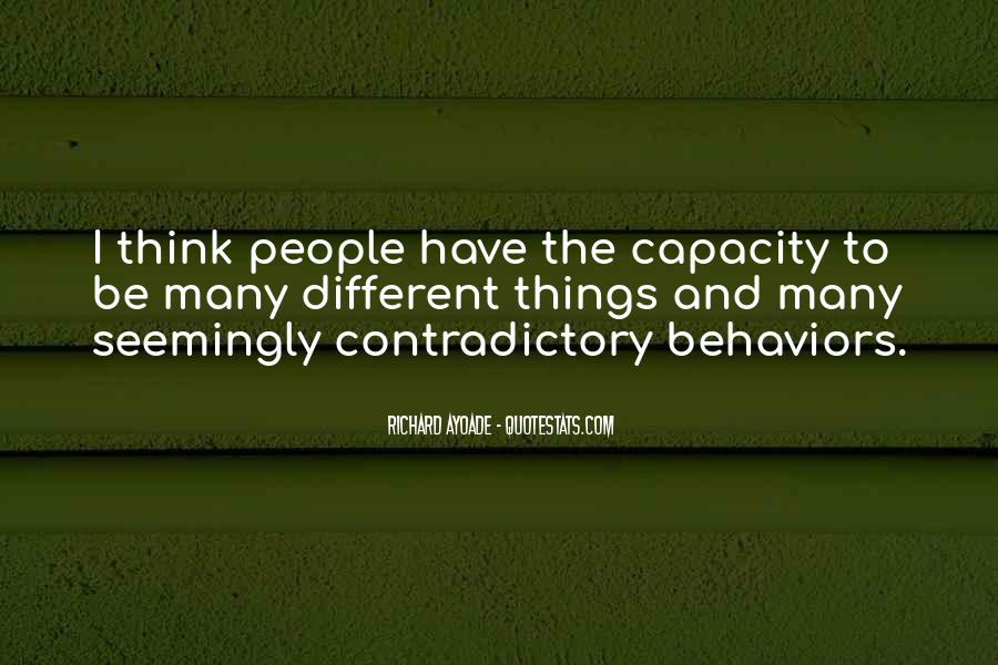 Thinking Capacity Quotes #569152
