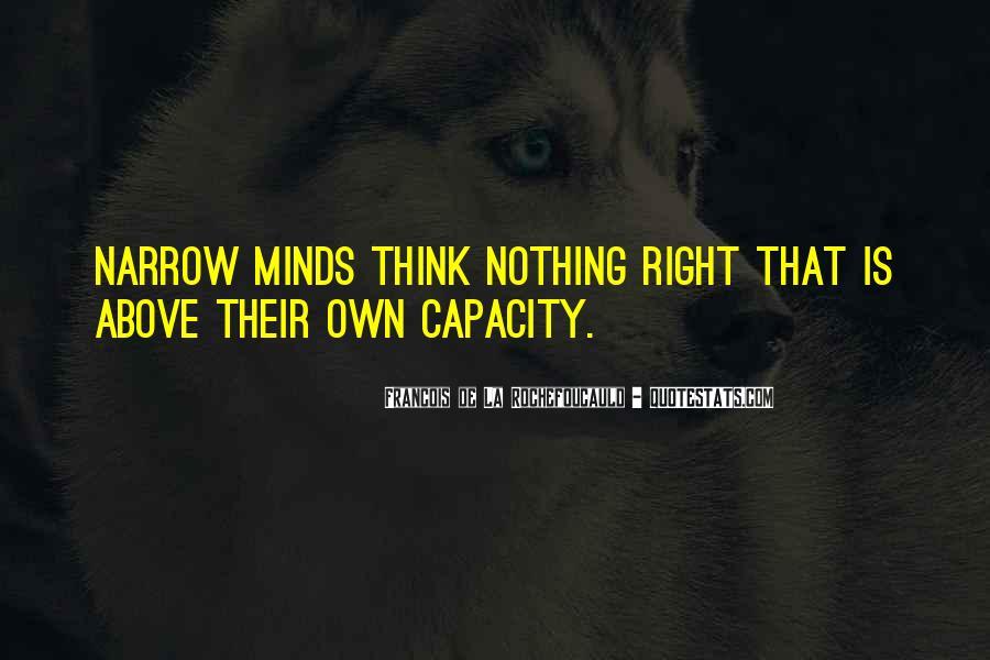 Thinking Capacity Quotes #724435