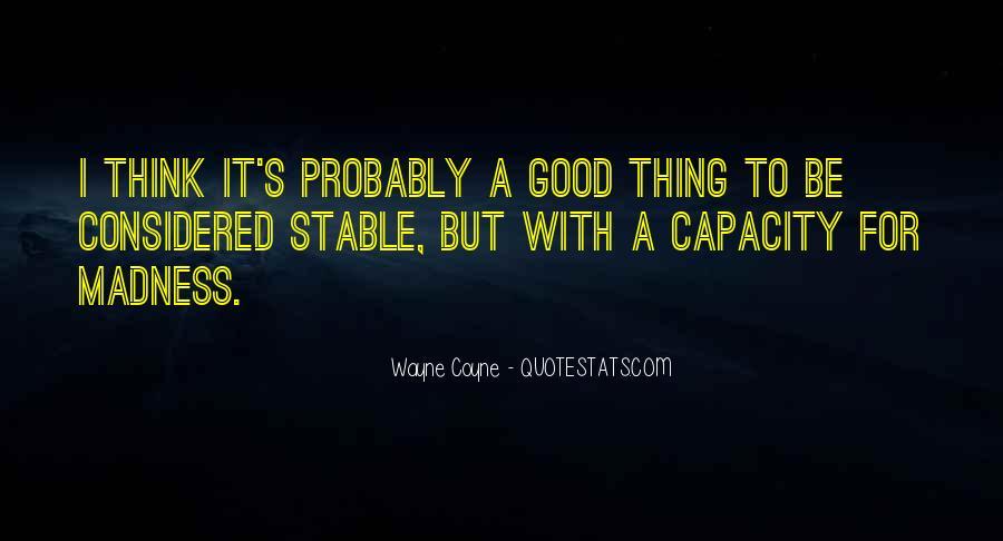 Thinking Capacity Quotes #783229
