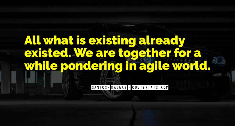 Thinking Existing Quotes #1204786