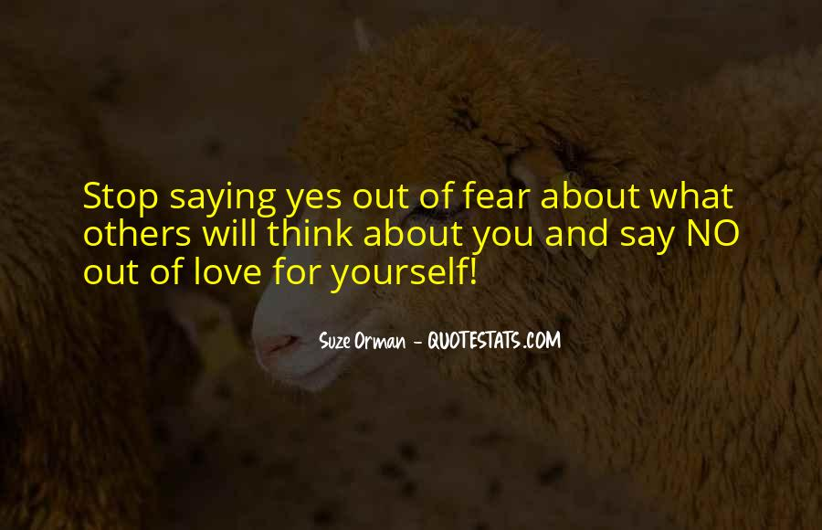 Thinking Love Quotes #27414