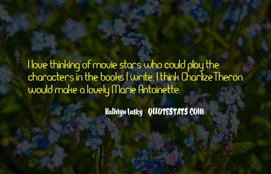 Thinking Love Quotes #27522