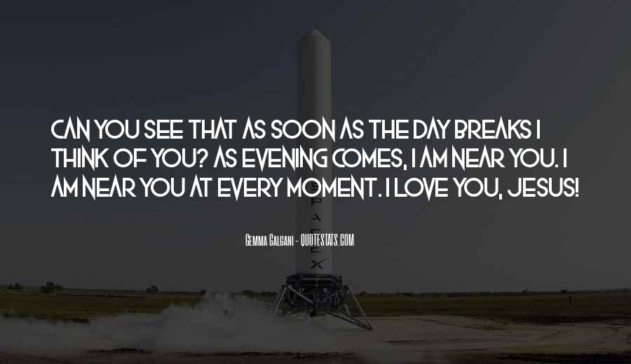 Thinking Love Quotes #28551