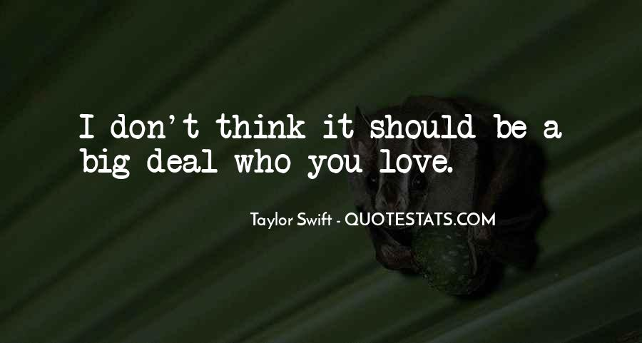 Thinking Love Quotes #30739