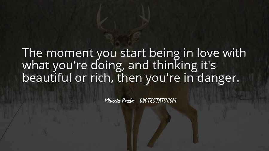 Thinking Love Quotes #33725