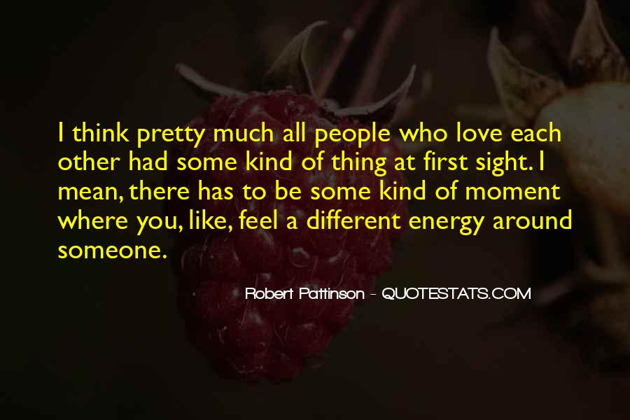Thinking Love Quotes #37532