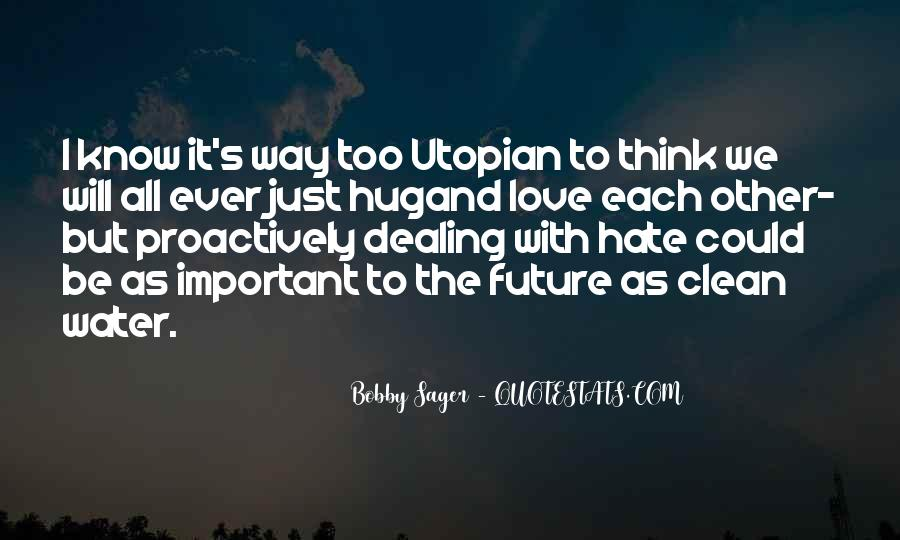 Thinking Love Quotes #38635