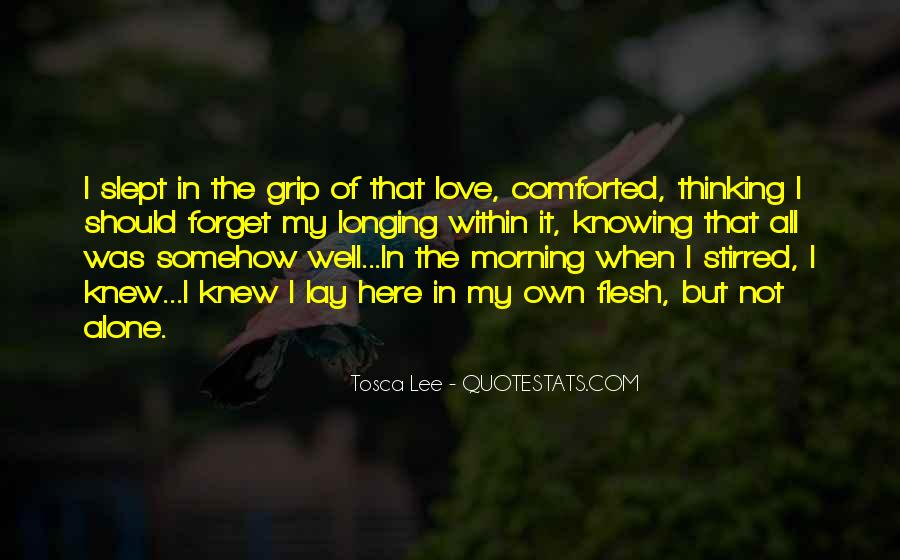 Thinking Love Quotes #45548