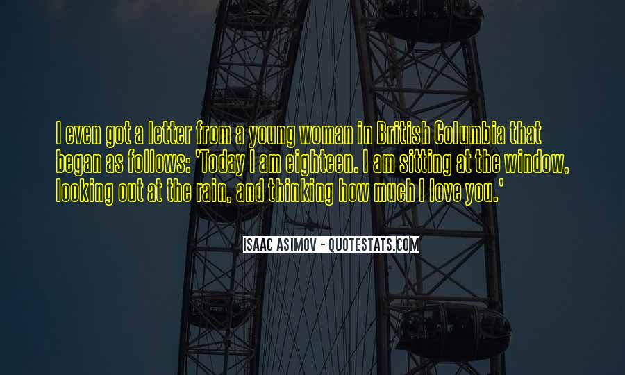 Thinking Love Quotes #54926