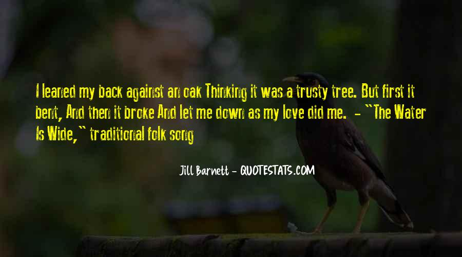 Thinking Love Quotes #59454
