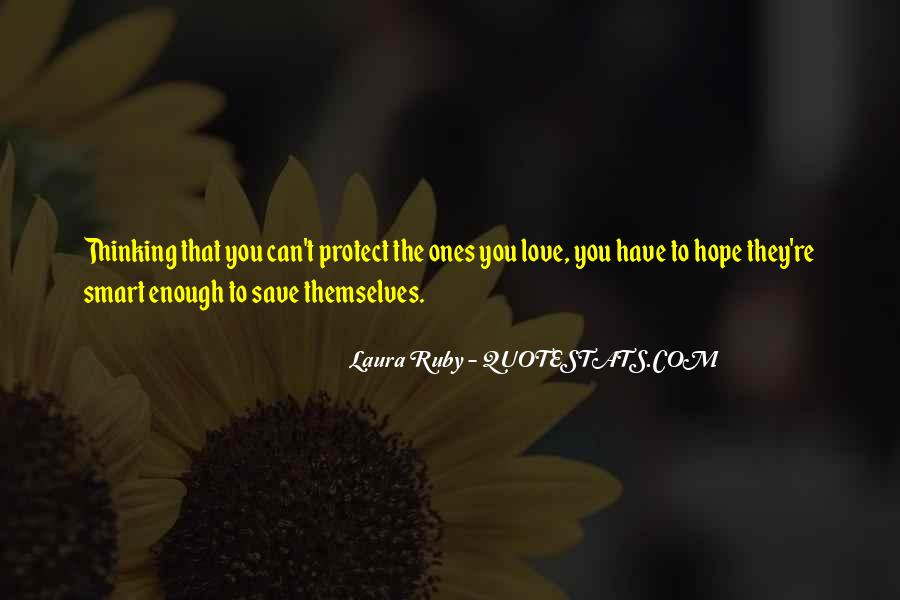 Thinking Love Quotes #59640