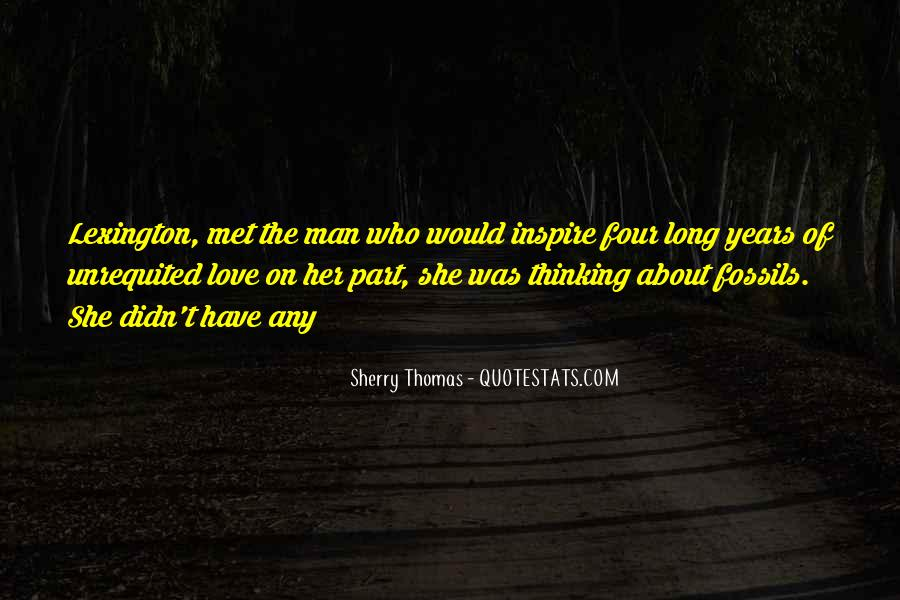 Thinking Love Quotes #79086