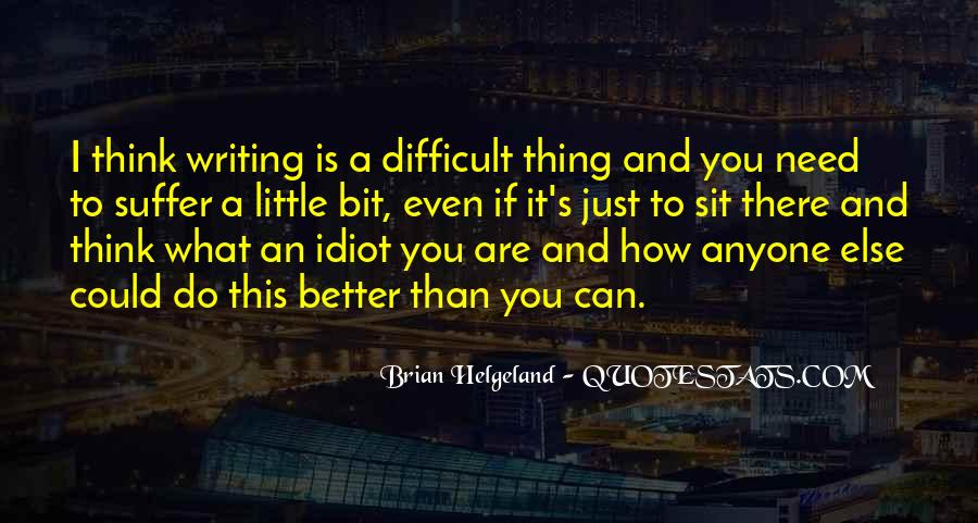 Thinking Outside The Idiot Box Quotes #1744727