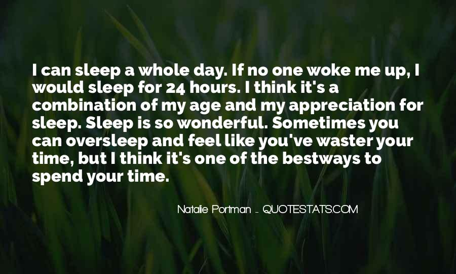 Thinking Too Much To Sleep Quotes #205179