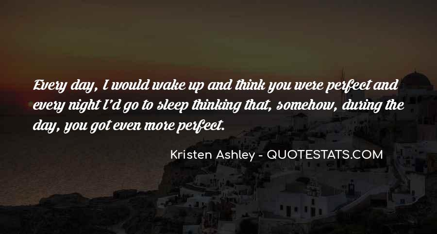 Thinking Too Much To Sleep Quotes #229245