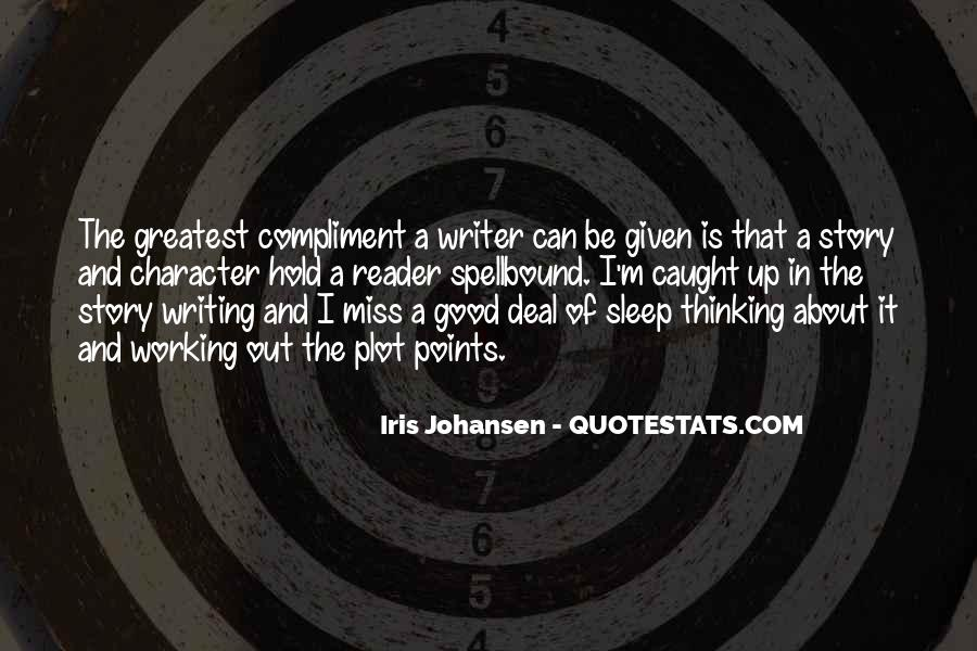 Thinking Too Much To Sleep Quotes #312005