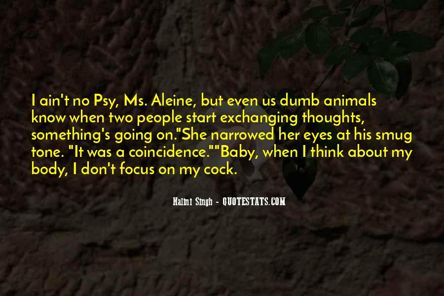 Quotes About Aleine #630725