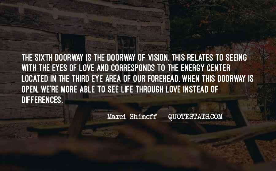 Third Eye Vision Quotes #44209