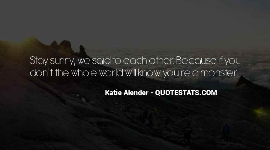 Quotes About Alender #1529680