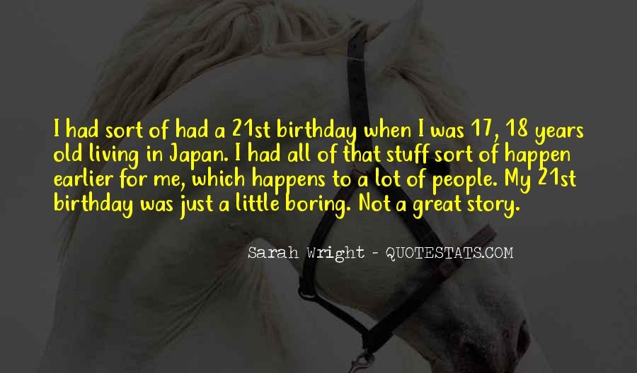 Thirty Years Old Birthday Quotes #121184