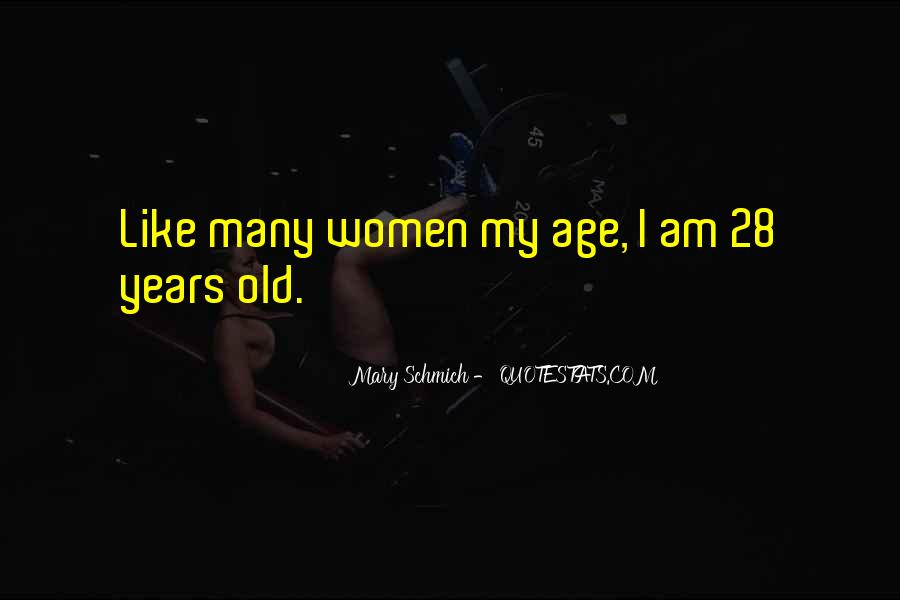 Thirty Years Old Birthday Quotes #1365034