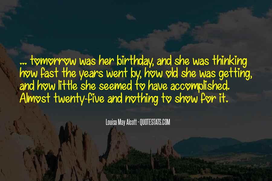Thirty Years Old Birthday Quotes #958086