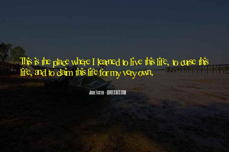 This My Life Quotes #13313