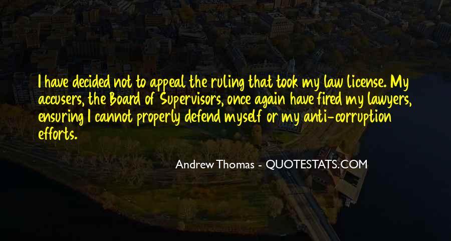 Thomas Andrew Quotes #1087112