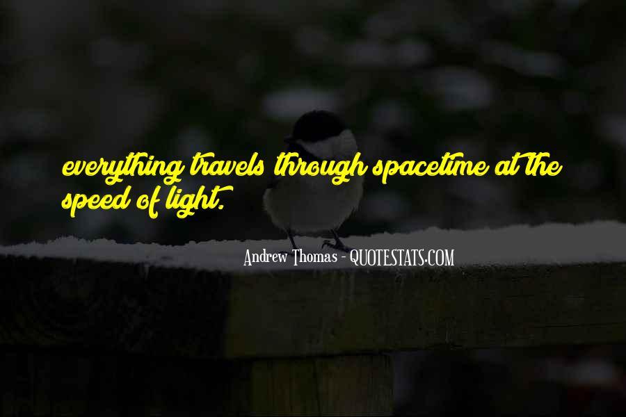 Thomas Andrew Quotes #1328336
