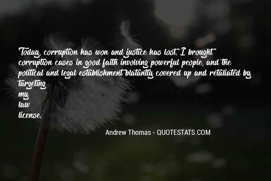 Thomas Andrew Quotes #1777497