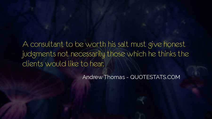 Thomas Andrew Quotes #607314