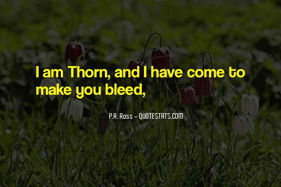 Thorn Quotes #190649
